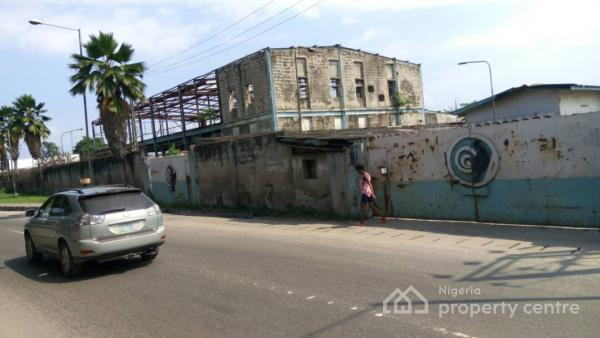 Former Nitel, P&t Premises on 18,000 Square Metres of Land (28 Plots of Land), in a Very Strategic Location at Along Funso Williams Way, Iponri, Surulere, Lagos, Industrial Land for Sale