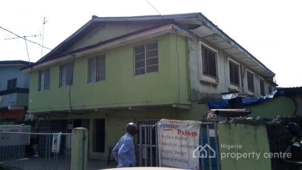a 5 Bedroom Duplex with 4 Mini Flats, Masha, Surulere, Lagos, Detached Duplex for Sale