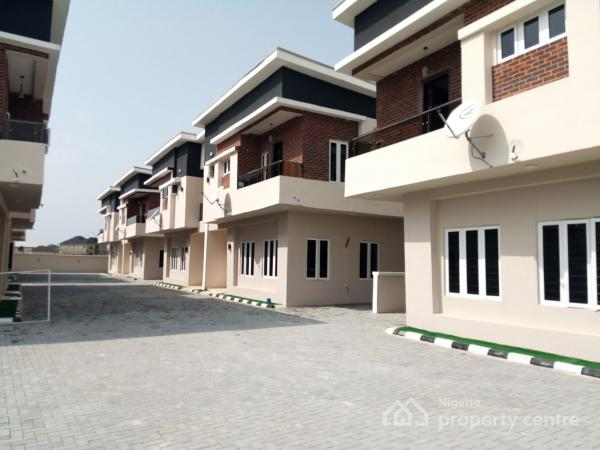 4 Bedroom Semi Detached Duplex with Excellent Finishing for Sale on Orchid Hotel Road, Orchid Hotel Road, Lafiaji, Lekki, Lagos, Semi-detached Duplex for Sale