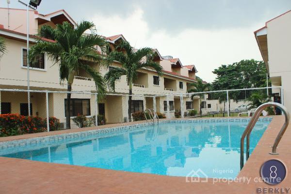 4 Bedroom Terraced House, Alexander Road, Old Ikoyi, Ikoyi, Lagos, Terraced Duplex for Rent