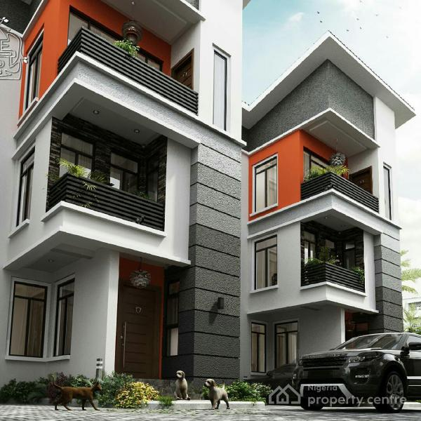 For Sale: 4 Bedroom Contemporary Townhouse With A Maids