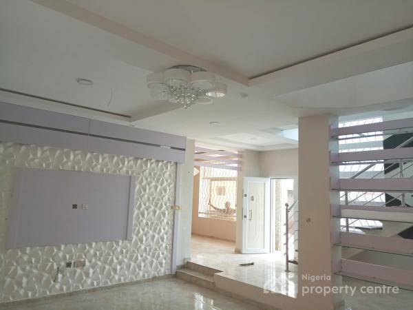 Modern Luxury and Contemporary 5-bedroom Detached Duplex with a Bq Inside an Estate, 24/7 Serviced Estate 3rd Roundabout Lekki 1, Lekki Phase 1, Lekki, Lagos, Semi-detached Duplex for Sale