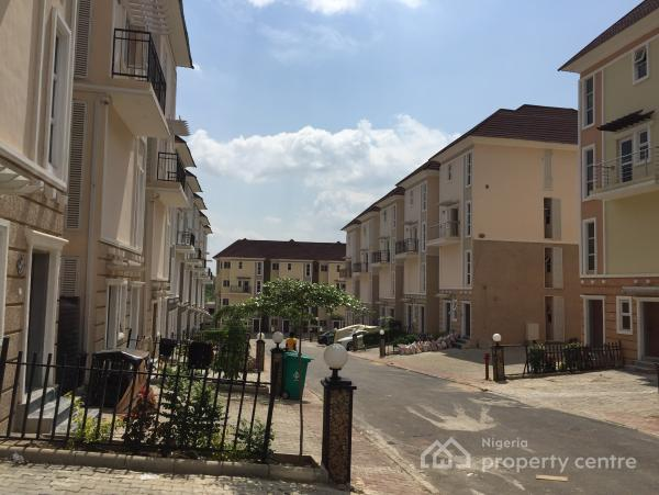 Brand New 4 Bedroom Terrace Maisonette, Brains & Hammers, Galadimawa, Abuja, Terraced Duplex for Sale
