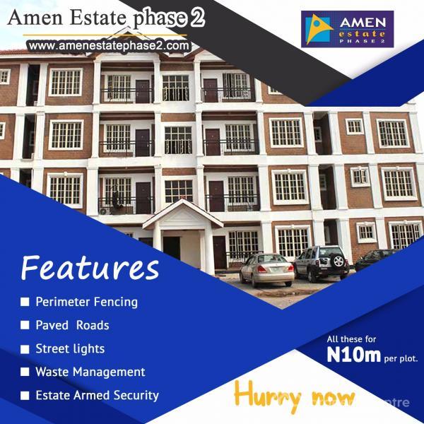 Amen Estate Phase 2, Ibeju Lekki, Lagos, Residential Land for Sale