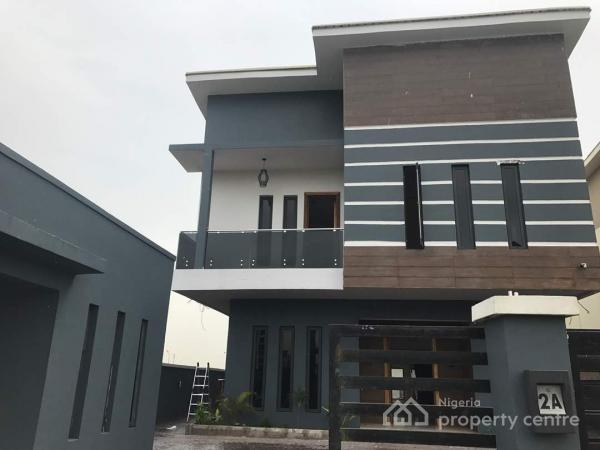Five Bedroom Contemporary Detached House with Bq Swimming Pool, Pinnock Beach Estate, Lekki, Lagos, Detached Duplex for Sale