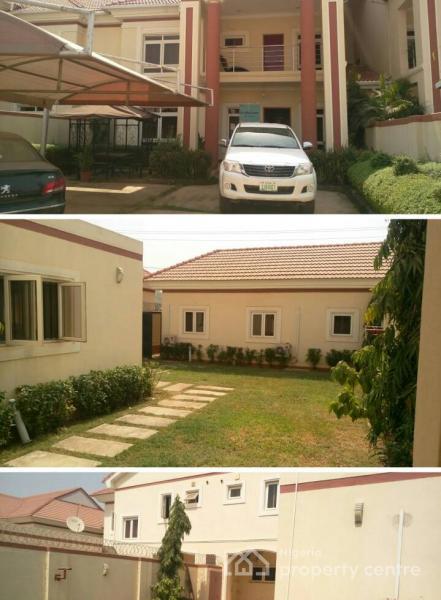 Luxurious 4 Bedrooms + 2 Rooms Bq, Godab Estate, Life Camp, Dape, Abuja, Semi-detached Duplex for Sale