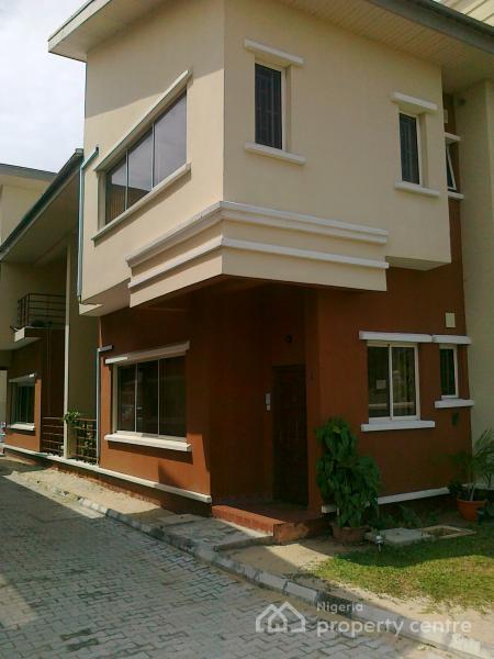 4 Bedroom Duplex in a Small Estate, Abdul Raufu Obitayo Street. Agungi., Agungi, Lekki, Lagos, Semi-detached Duplex for Sale