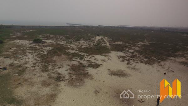 2 Contiguous Parcels of Land with Waterfront View, New Sliverbird Road, Lekki Peninsula  Beach Side, Ikate Elegushi, Lekki, Lagos, Mixed-use Land for Sale