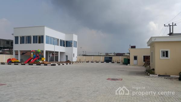Brand New Luxury Serviced 3-bedroom Flat with Bq with Cinema,24 Hours Power, Gym Etc, Osapa, Lekki, Lagos, Flat for Sale