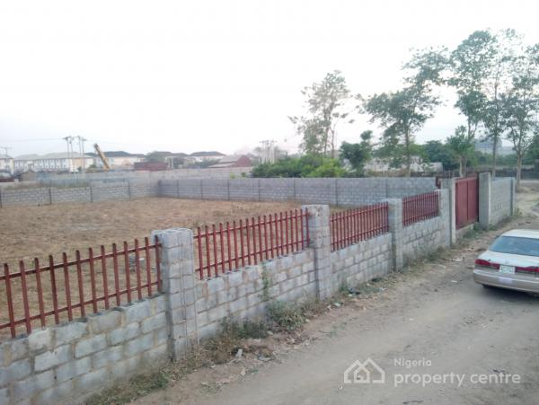 1000sqm Fenced and Gated Flat Land  with C of O, Jahi, Abuja, Residential Land for Sale