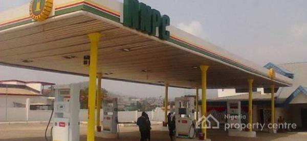 Nnpc Mega Filling Station with Ten (10) Pumps and Two (2) Fuel Tankers, Directly on Lekki Epe Express Way, Alatise, Ibeju Lekki, Lagos, Filling Station for Sale