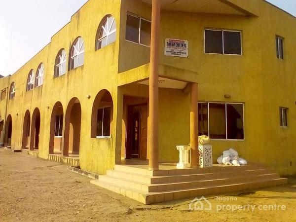 For sale a multipurpose hall sited on egbe for Houses for sale with guest house on property