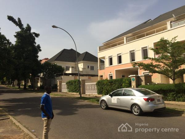 Tastefully Built Unit of 5-bedroom Terrace Duplex with Bq, Number 4, Buchanan Crescent, Wuse 2, Abuja, Terraced Duplex for Sale
