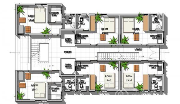for Sale Purpose-built Modern Studio Flat with Inverter Ducting/internet Connectivity Feature, Plot 809/810, Ghali Naabba Crescent, Dahiru Musdafa Boulevard, Off Babafemi Ogundipe Boulevard, Wuye, Abuja., Wuye, Abuja, Flat for Sale
