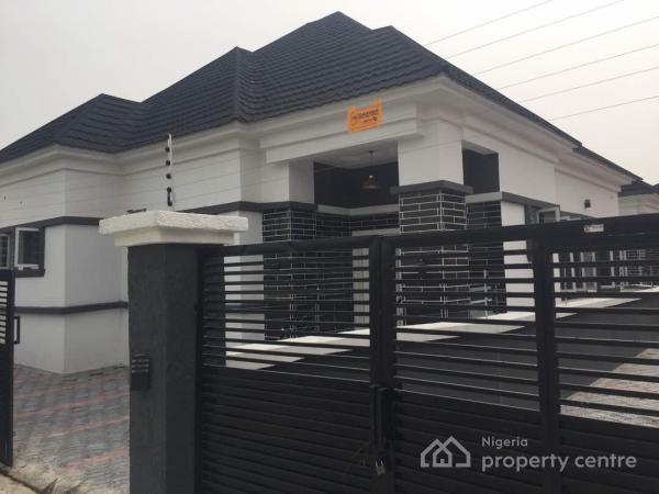 Newly Built 4 Bedroom Bungalow Self Compound Divine Homes Thomas Estate Ajah