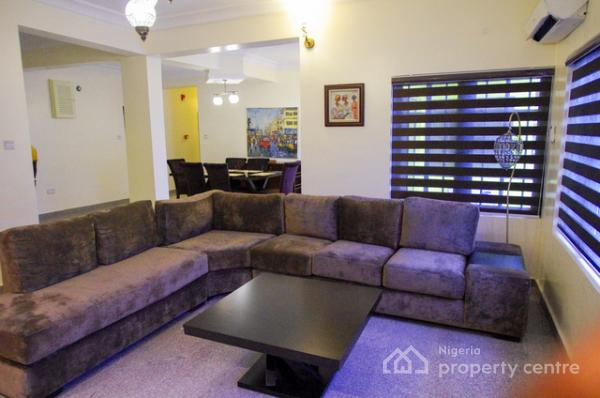 Fully Furnished and Serviced  3 Bedroom Flat with Bq, Old Ikoyi, Ikoyi, Lagos, Flat Short Let