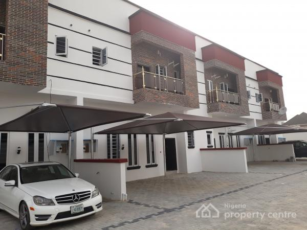 4  Bedroom Terrace Duplex All En Suite with 24hrs Light, Orchid Rd, By 2nd Toll Gate, Lekki, Lagos, Terraced Duplex for Rent
