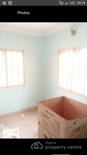 a Newly Vacant 1 Bedroom Apartment, Sunnyvale Estate,  Ecowas Drive, Dakwo, Abuja, Mini Flat for Rent