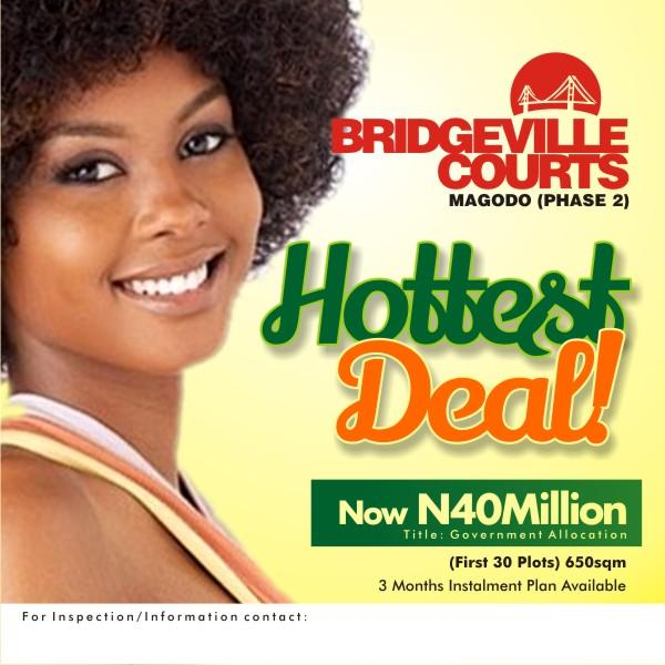Bridge Ville Courts, Phase 2, Gra, Magodo, Lagos, Mixed-use Land for Sale