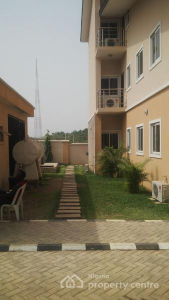a Nicely Finished 4 Bedroom Terrace Duplex with an Attached Bq, Behind Games Village Estate Through the Summit Church Junction (icc), Kaura, Abuja, Terraced Duplex for Rent