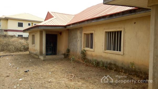 Well Located 3 Bedroom Bungalow with 2 Room Boys Quarters, Karu, Abuja, Semi-detached Bungalow for Sale