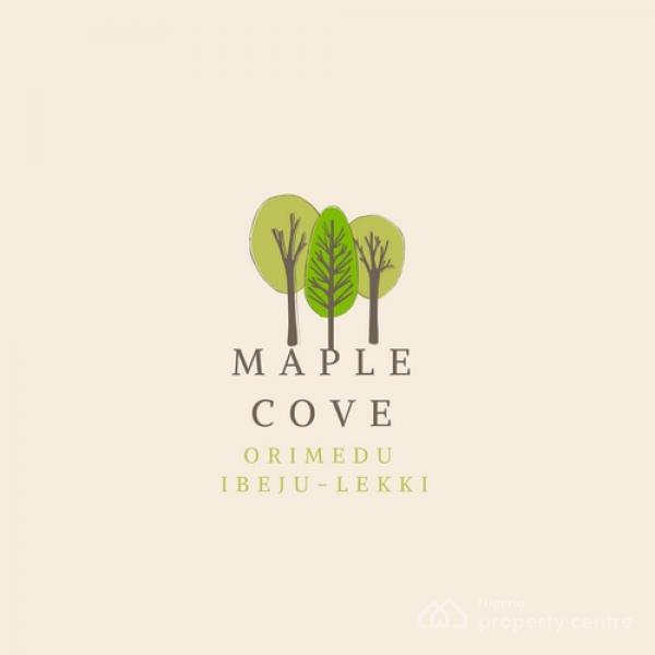 Unveiling The Project-maple Cove, Off The Lekki Coastal Road, Orimedu, Ibeju Lekki, Lagos, Residential Land for Sale
