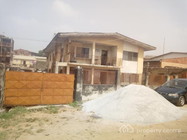 2 Storey Structure, Sw9/  Ifesowapo Street, Off Ono - Ona Elewe Road ( Agbaniilepanu Area) Orita, Challenge, Ibadan, Oyo, House for Sale