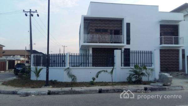 Duplex of Six (6) Bedroom and a Wing of Two (2) Flats Comprising: Three (3) Bedrooms, Atlantic View Estate, Lekki, Lagos, House for Sale