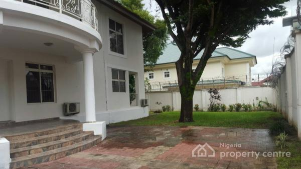 Well Built & Solid Finished 5bedrooms Detached Duplex with Servant Quarters Serviced, Off Ibb Boulevard Way, Maitama District, Abuja, Detached Duplex for Rent