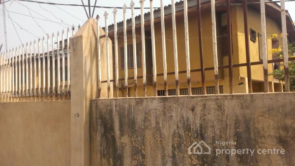 Solid 5 Bedroom Duplex Suitable for Commercial Purposes, Just 6 Houses Away From Mtn Oluyole Estate Ibadan, Oluyole, Oyo, Office Space for Sale