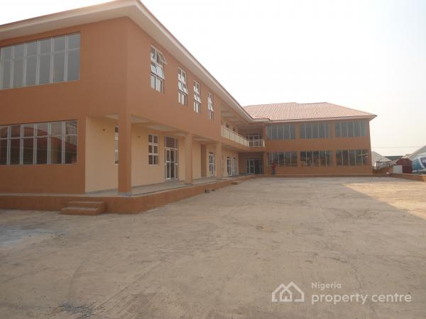 a Newly Built  Corporate Open Space Within a Shopping Complex with Fabulous Finishing, Police Sign Post Road, Lugbe District, Abuja, Plaza / Complex / Mall for Rent