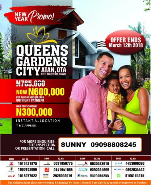 Cheap and Affordable Land, Sango Ota, Ogun, Mixed-use Land for Sale
