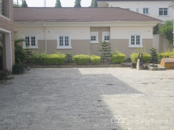 5 Bedroom+bq (4unit), Same Side Wit.h Sun Rise Estate, Asokoro District, Abuja, Semi-detached Duplex for Rent