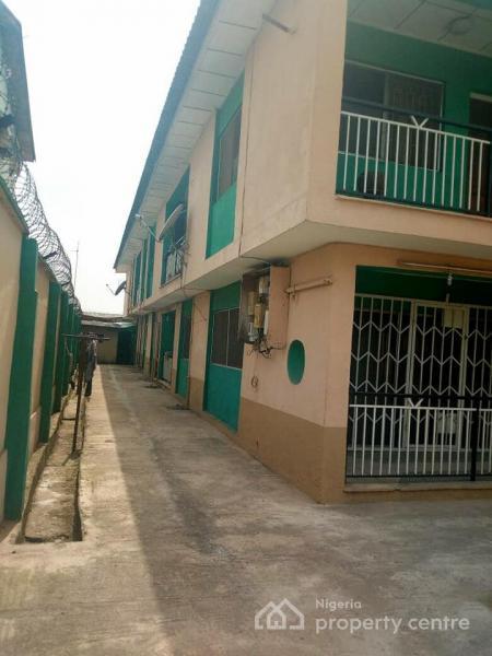 Clean 3 Bedroom Flat, Coker Estate, Off College Road, Ogba, Ikeja, Lagos, Flat for Rent