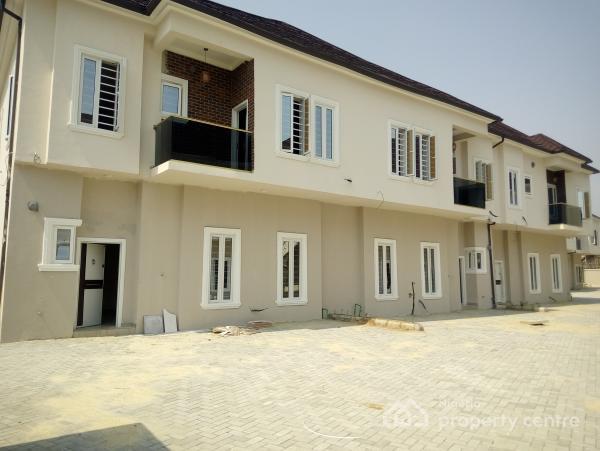 Brand New 4 Bedroom Terrace Duplex, By Chevron Toll Gate, Lekki Expressway, Lekki, Lagos, Terraced Duplex for Sale