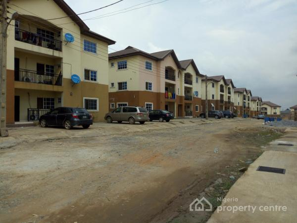 3-bedroom All Room En-suite Apartment, Inside Praise-hill Estate, About 1-mintues Drive Off Lagos-ibadan Expressway Near Ojodu, Berger, Arepo, Ogun, Block of Flats for Sale