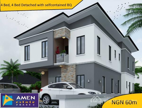 For Sale: Luxury 4 Bedroom Flat + Bq @ Amen Estate 2.ibeju ...