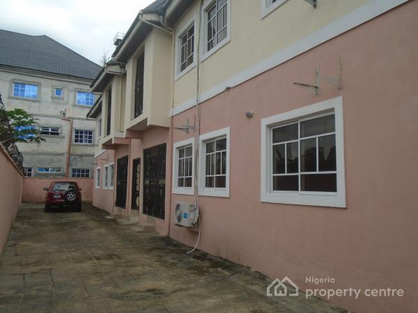 a  Block of 2 Bedroom Flat, 4 Nos, Ozuoba Road By Ait Station, Uzuoba, Port Harcourt, Rivers, Flat for Sale