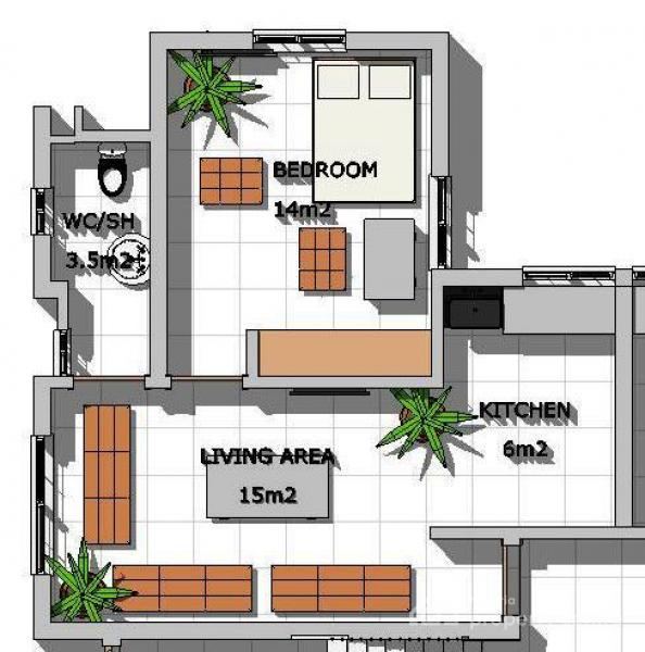 1 Bedroom Luxury Apartments: For Sale: Luxury 1-bedroom Flat At Highgate Apartments