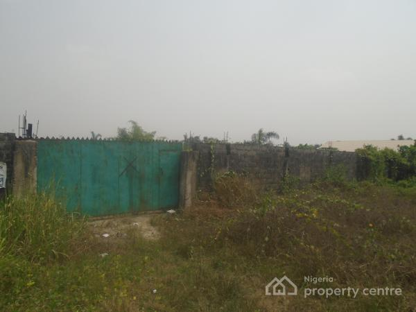 5 Plots of Land Completely Fenced Round with Gate, Off East West, By Eliozu Flyover, Eliozu, Port Harcourt, Rivers, Mixed-use Land for Sale