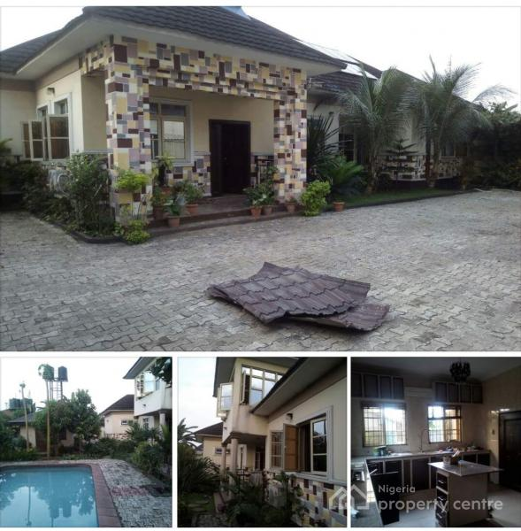 For Sale 4 Bedroom Bungalow With Swimming Pool Eliowhani Off Rumuodara Road Off East West