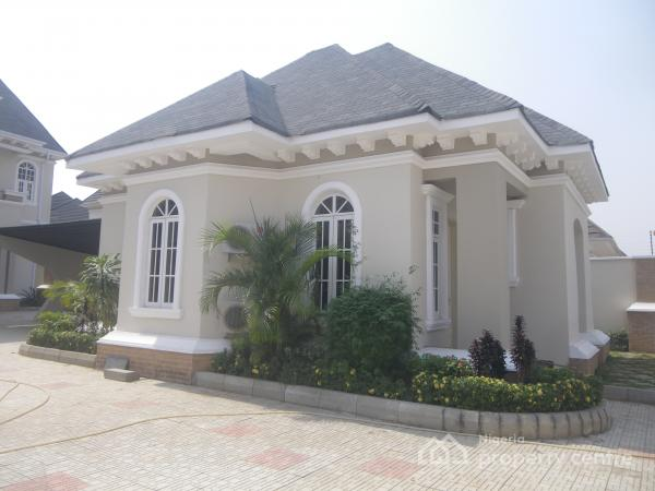 New 6 Bedroom, 2 Sitting-rooms, Bq + 2 Bedrooms Guess Chalet, Bq, Maitama District, Abuja, House for Rent