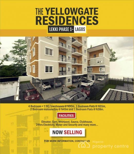Newly Built 2 Bedroom Maisonette  for Sale Lekki Phase 1, Lekki Phase 1, Lekki, Lagos, House for Sale