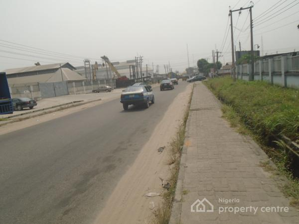 Empty 30 Plots of Land, By Ordinance, Trans Amadi, Port Harcourt, Rivers, Industrial Land for Sale