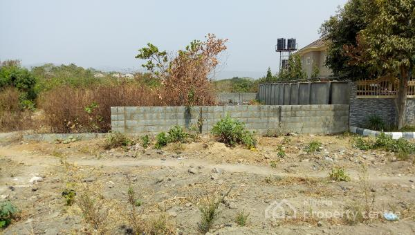 1800sqm Land with C of O By Navy, Behind Starfield College, By Navy, Kado, Abuja, Residential Land for Sale