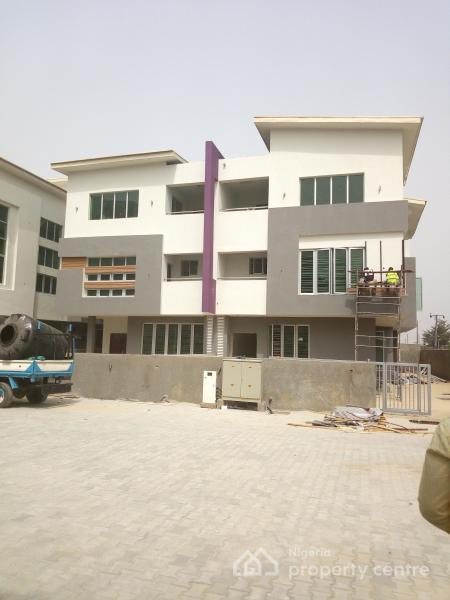 Newly Built 5 Bedroom Terrace Duplex with a Maids Room in a Fully Service Estate, Richmond Gate Estate, Ikate Elegushi, Lekki, Lagos, Terraced Duplex for Rent