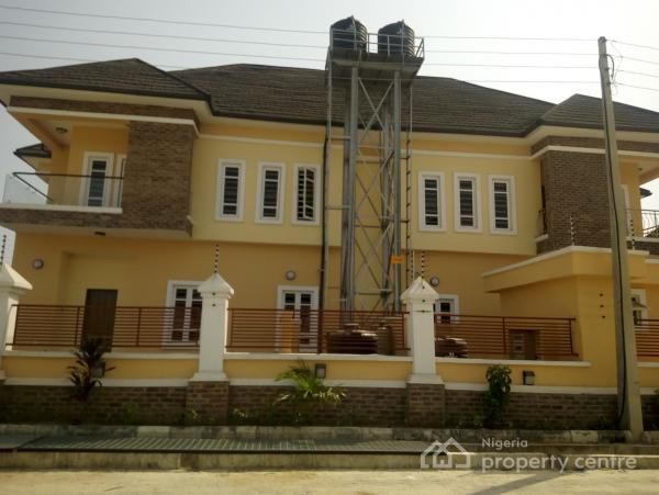 Brand New 4 Bedroom Detached Duplex, Before Chevron, Ologolo, Lekki, Lagos, Semi-detached Duplex for Rent