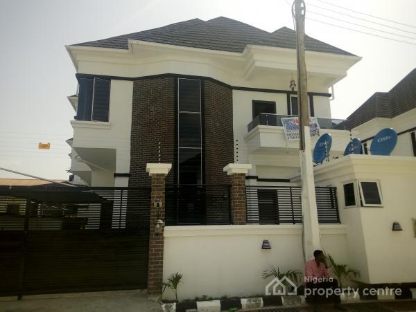 Brand New 4 Bedroom Fully Detached Duplex, Osapa, Lekki, Lagos, Detached Duplex for Rent