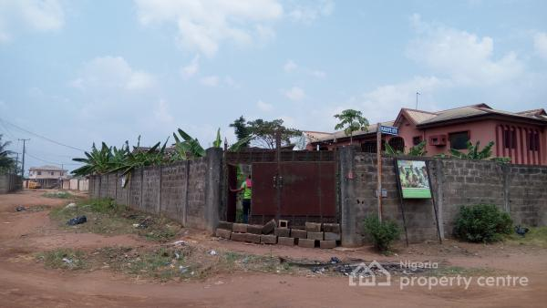 Uncompleted 3 Bedroom (decking Level) Already Fenced with Gate, Oguntunwase Avenue, By Omoyeni Street, Adexson Bus Stop Along Lasu-igando Expressway, Akesan, Igando, Ikotun, Lagos, Residential Land for Sale