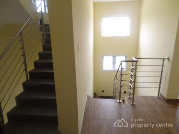 Newly Built Luxury 4 Bedroom Terrace Duplex with Maids Quarters, Iru Close, Osborne, Ikoyi, Lagos, Terraced Duplex for Rent